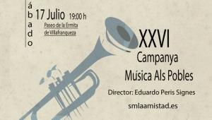 Concierto XXVI CAMPANYA DE MÚSICA ALS POBLES