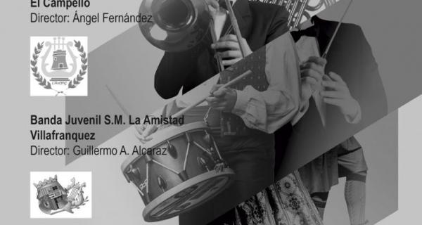Intercambio de Bandas Juveniles de L'Avanç y Banda de Villafranqueza SM La Amistad en ElPalamó.